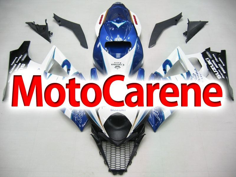 SUZUKI GSX 1000 Anno 2007 2008 K7 Carena ABS Kit Fairing Art 22 Corona Extra beer Sky