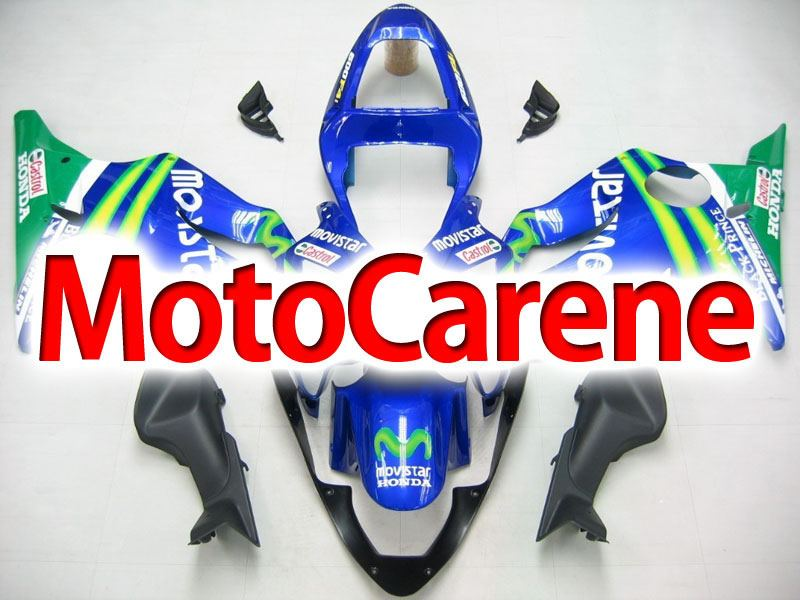 HONDA CBR 600 f4i anno 2001 2003 Carena ABS Fairing  Art 01 Movistar Telefonica
