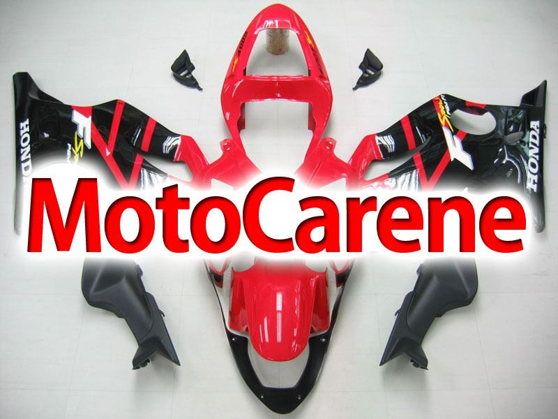 HONDA CBR 600 f4i anno 2001 2003 Carena ABS Fairing Art 26 Black Devil