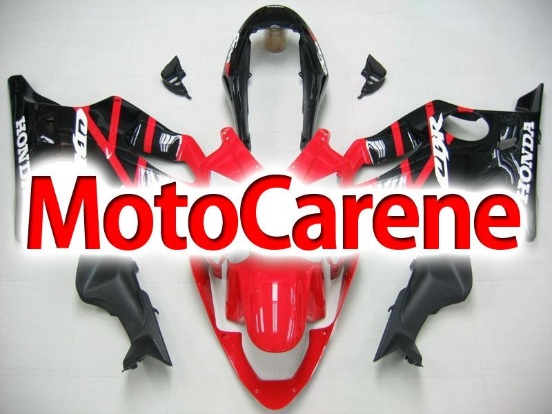 HONDA CBR 600 f4i anno 2004 2007 Carena ABS Fairing Art 09 Red Black Devil