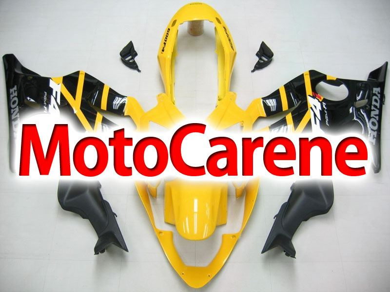 HONDA CBR 600 f4i anno 2004 2007 Carena ABS Fairing Art 10 Yellow Black