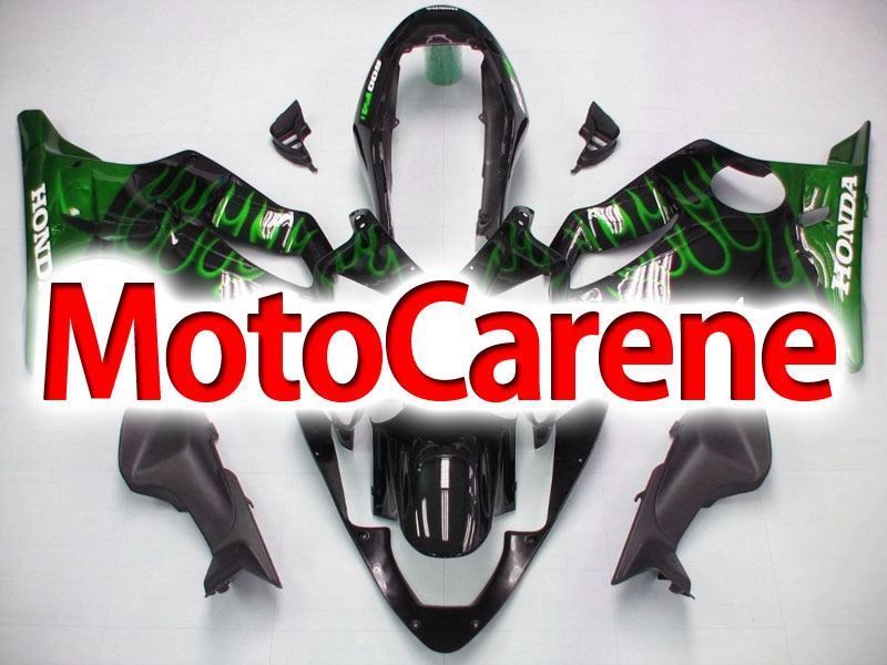HONDA CBR 600 f4i anno 2004 2007 Carena ABS Fairing Art 20 Black Fire Green