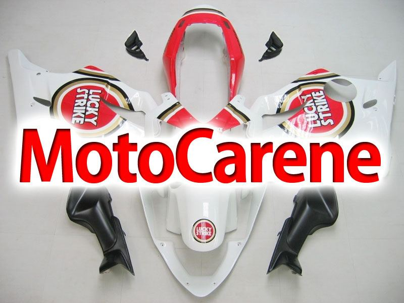 HONDA CBR 600 f4i anno 2004 2007 Carena ABS Fairing Art 25 lucky Strike Red
