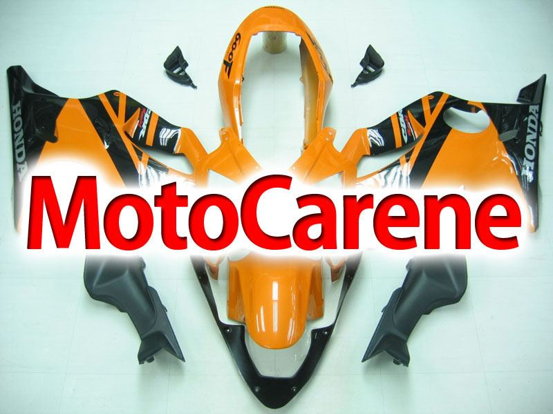 HONDA CBR 600 f4i anno 2004 2007 Carena ABS Fairing Art 26 Orange Black