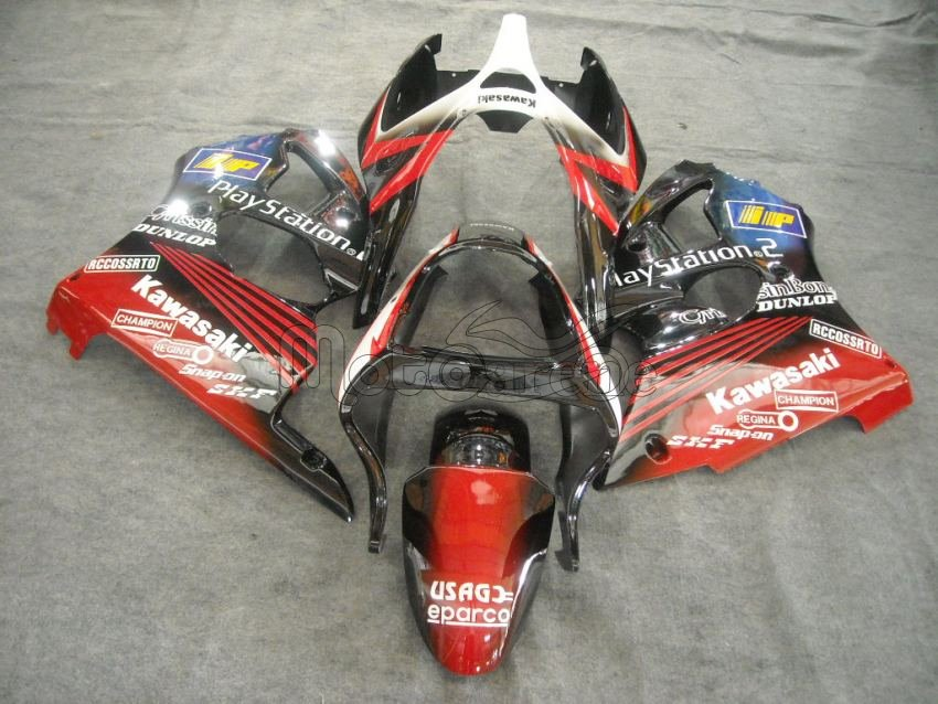 KAWASAKI ZX 9R Carena ABS Anno 2000-2003 Kit Fairing Art 02 playstation 2 SBK