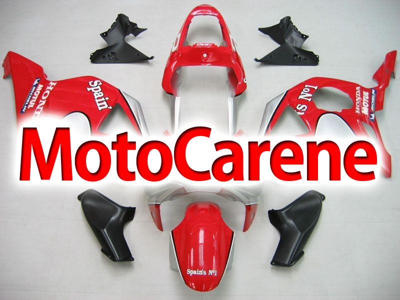 HONDA CBR 954 RR ANNO 02 03 Carena Fairing ABS Art 09 Rosso Racing Spanish