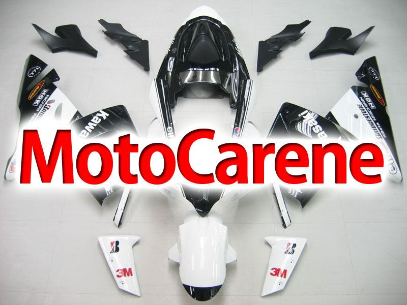 KAWASAKI ZX 10R Carena ABS Anno 2004 - 2005 Kit Fairing Art 20 White  Energy drink