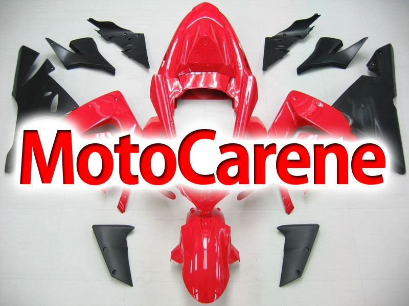 KAWASAKI ZX 10R Carena ABS Anno 2004 - 2005 Kit Fairing Art 22 Red total