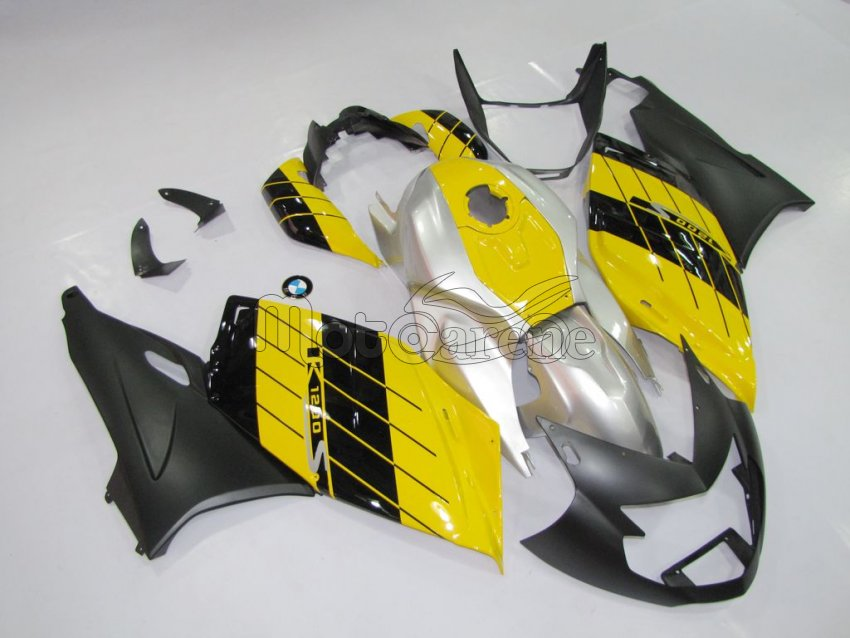 BMW K 1200 S Carena ABS Fairing giallo nero grigio ART. 01