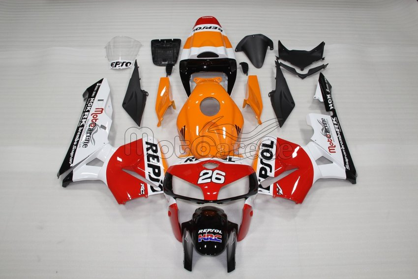 Honda CBR 600 RR 2005 2006 Carena ABS Art 84 Repsol Versione 2013 by motocarene