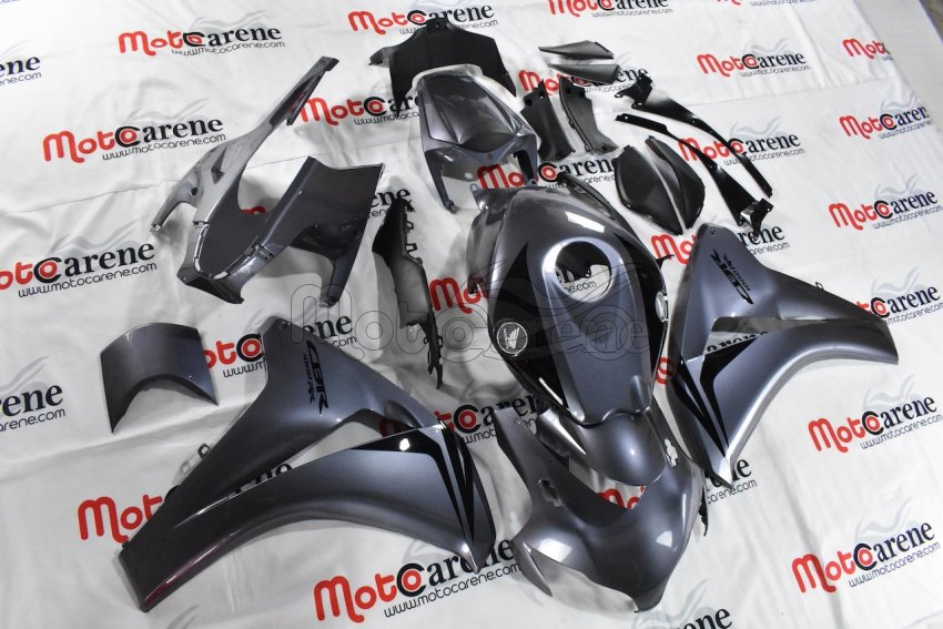 HONDA CBR 1000 RR Anno 08 11 Carena ABS Kit Bodywork Fairing Art 13A Silver Metal lucido