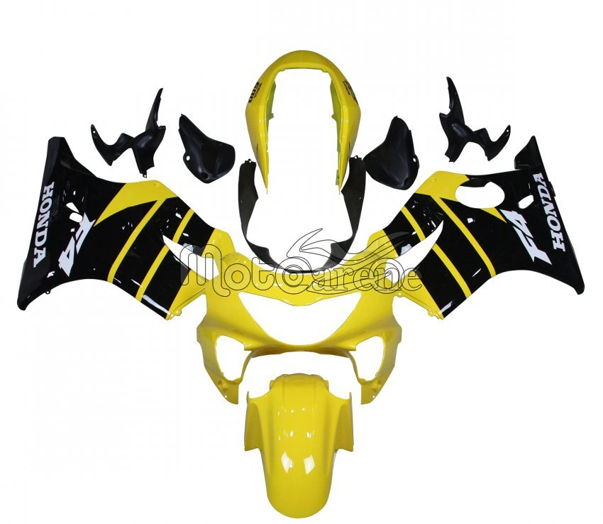 HONDA CBR 600 F4 anno 99 00 Carena ABS Fairing Art 01 giallo nero