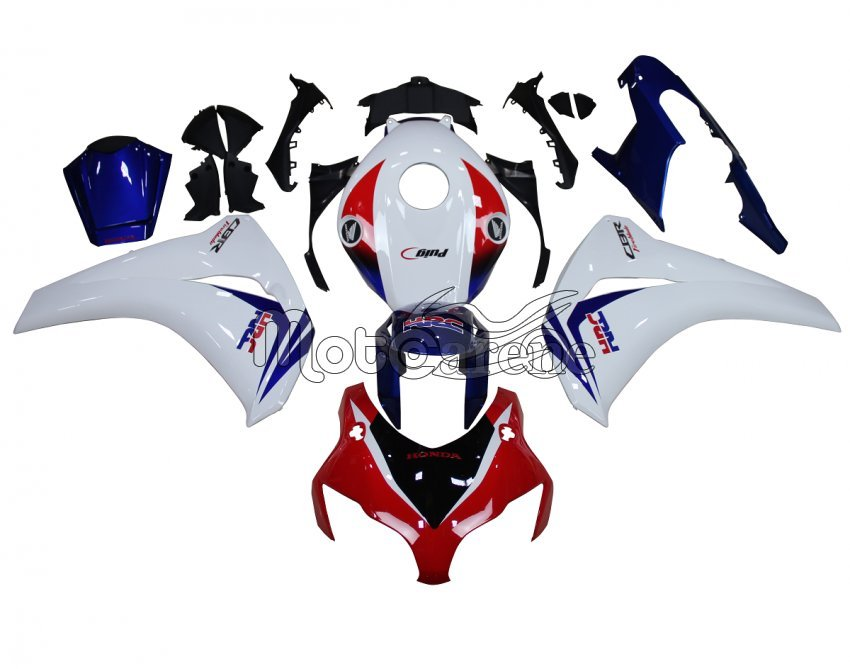 HONDA CBR 1000 RR Anno 08 11 Carena ABS Kit Bodywork Fairing Art 46 Fireblade