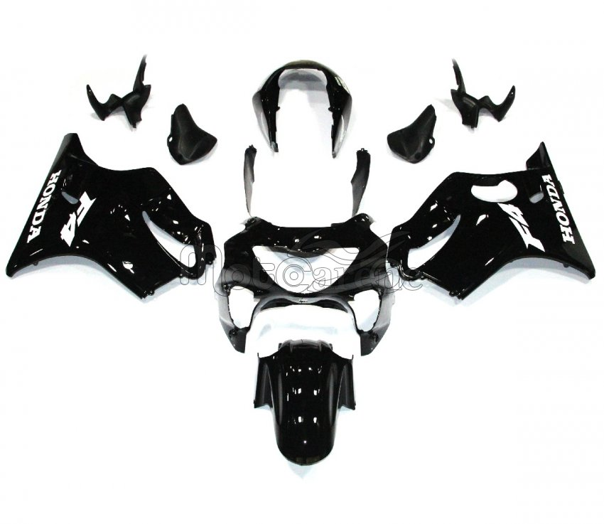 HONDA CBR 600 F4 anno 99 00 Carena ABS Fairing Art 02 Black total