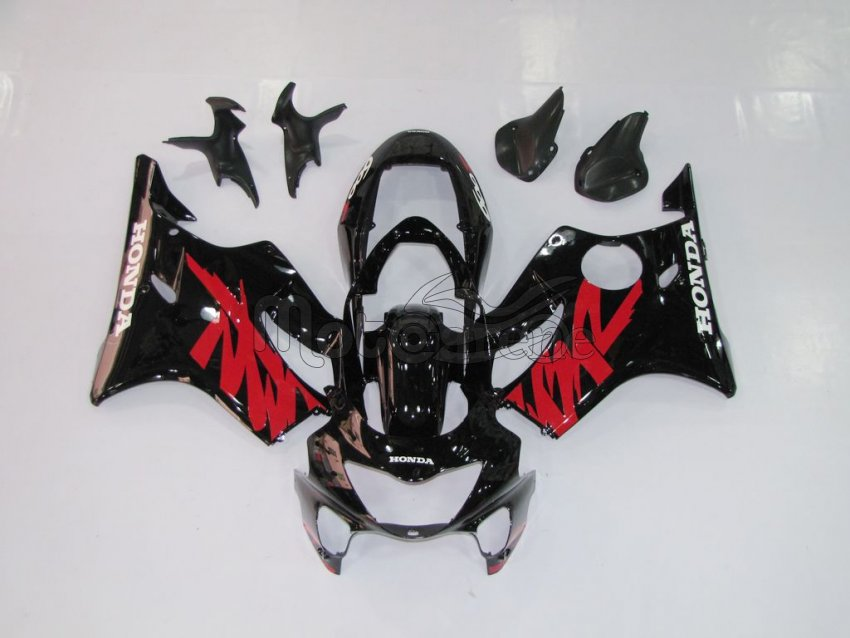 HONDA CBR 600 F4 anno 99 00 Carena ABS Fairing Art 06 Black Japan
