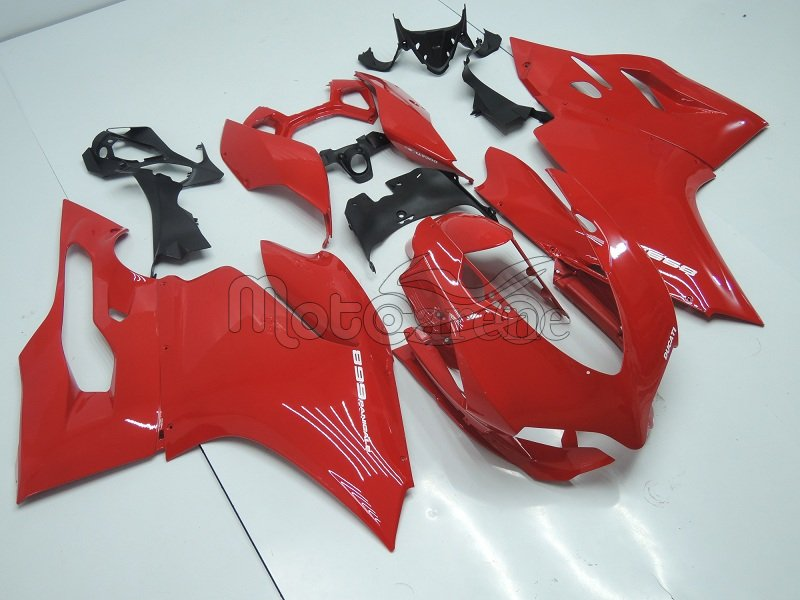 DUCATI Carena ABS 899 1199 Panigale Kit completo art 07 Red Rosso