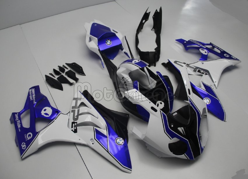 BMW 1000 RR Carena ABS Fairing Grafica Personalizzata Logo HP4 Art 13