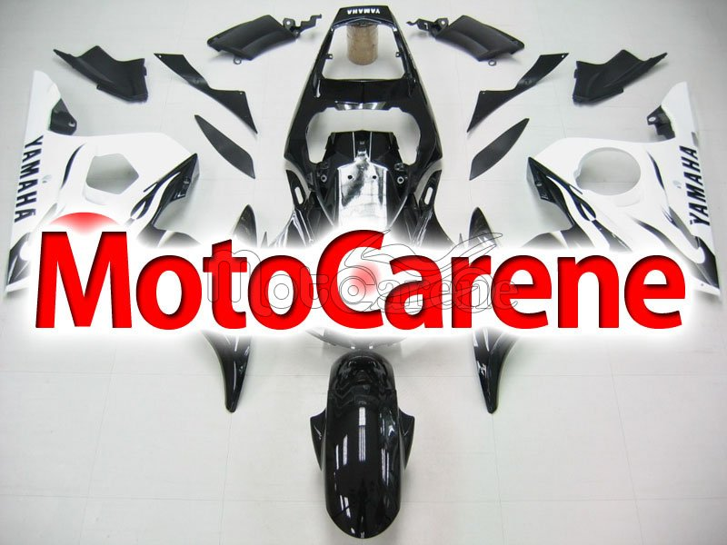 YAMAHA YZ-F R6 Carena ABS Anno 2005 body work Art 25 Black White