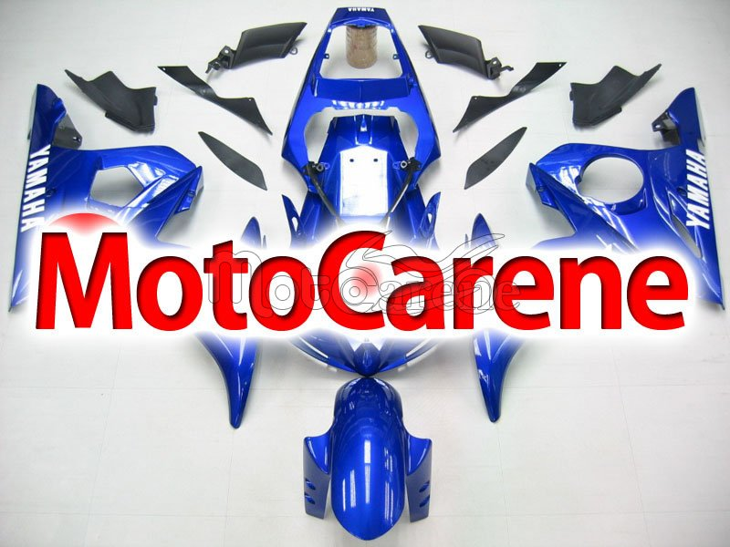 YAMAHA YZ-F R6 Carena ABS Anno 2005 body work Art 21 Blu Total
