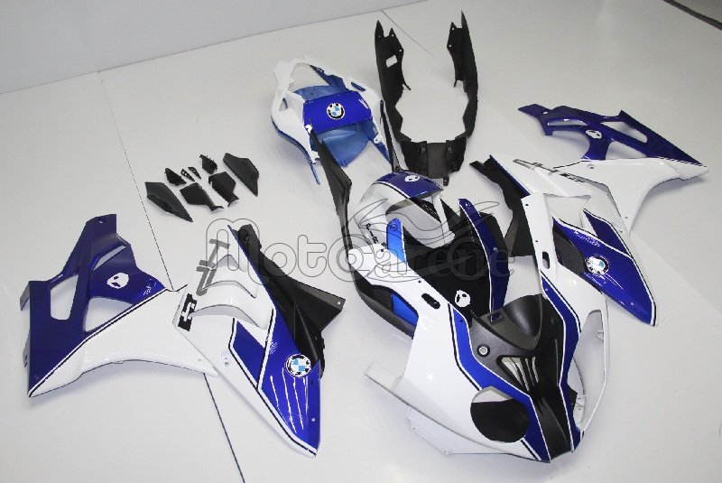 BMW 1000 RR Carena ABS Fairing Senza sponsor Grafica Logo HP4 Art 14