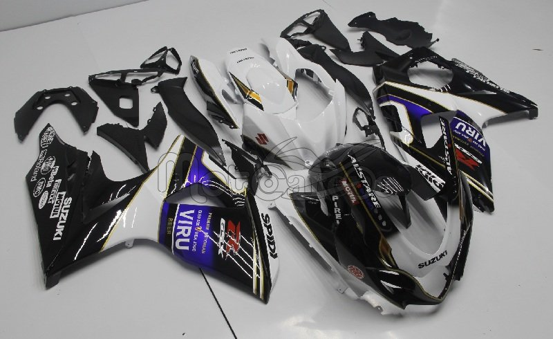 SUZUKI GSX 1000 Anno 2009 2012 Carena ABS Kit Fairing Art 21 Dark Dog Alstar