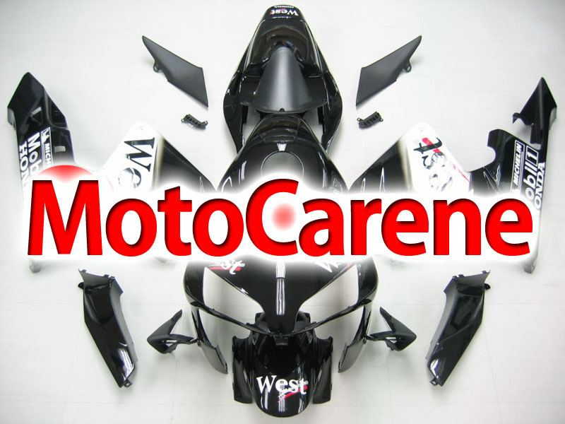 HONDA CBR 600RR Carena ABS Anno 2003 2004 ART. 09 West Black