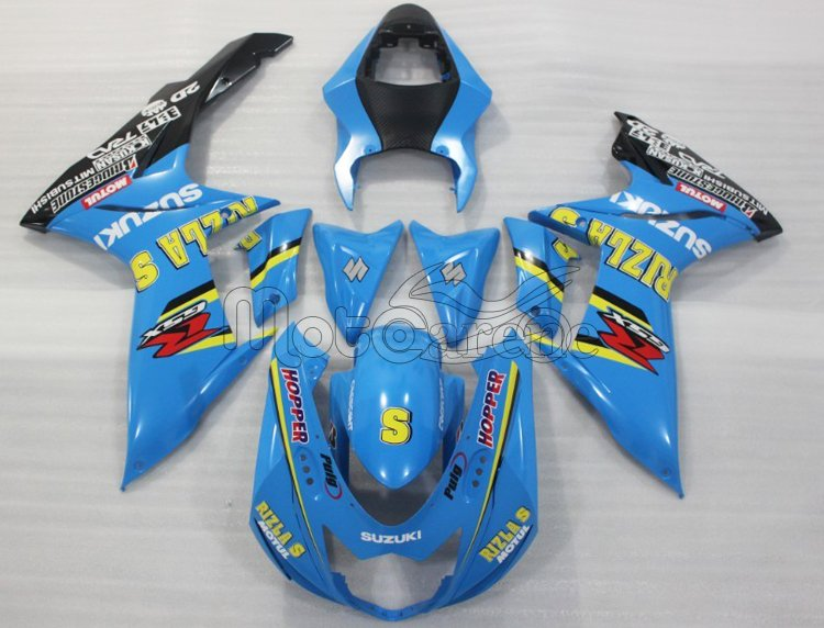 SUZUKI K11 GSX 600 - 750  year 2011 2013 Carena ABS Art  06 RIZLA