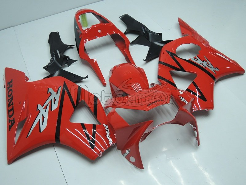 HONDA CBR 954RR year 2002 2003 Carena ABS KIT Fairing  Art 28-A Red black Original Color