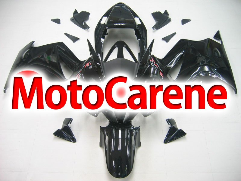 HONDA VFR 800 Carena ABS anno 2002 2012 Fairing Art 04 Black red interceptor