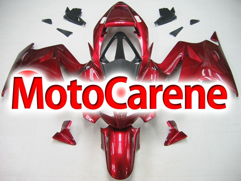 HONDA VFR 800 Carena ABS anno 2002 2012 Fairing Art 05 red Bordeaux metal interceptor
