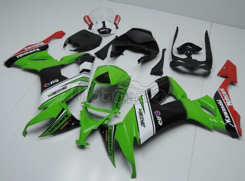 KAWASAKI ZX 10R Carena ABS Anno 2011 - 2015 Kit Fairing Art 04 Tom Sykes