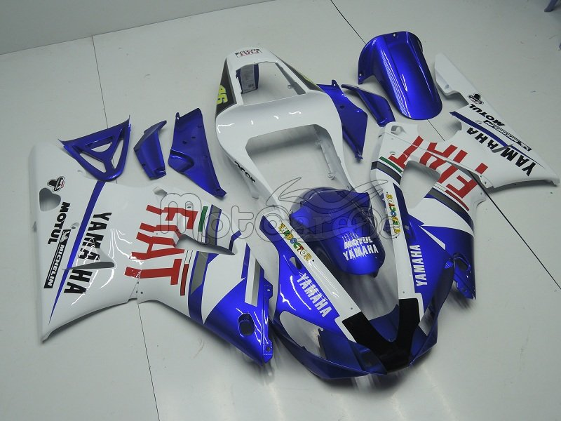 YAMAHA YZ-F R1 Carena ABS anno 02 03 Kit Delta box III Art 07a Fiat Blu Vale 46 Acer