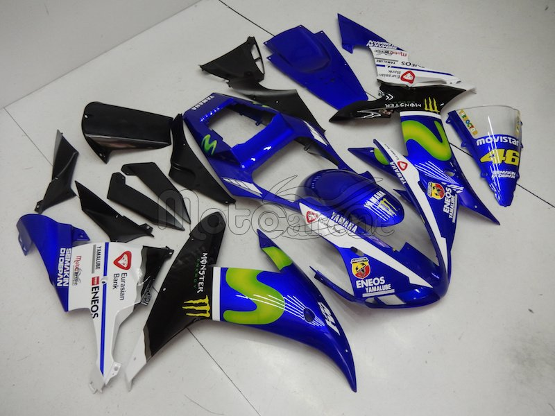 YAMAHA YZ-F R1 Carena ABS anno 02 03 art 30 Movistar M1 The doctor