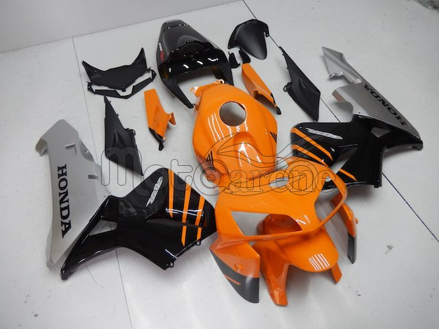 Honda CBR 600 RR 2005-2006 CARENA ABS ART 97 orange personalizzata