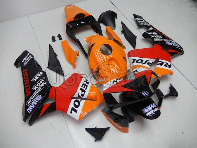 Honda CBR 600RR Kit Carena ABS anno 2003 2004 Art.94 Repsol Gas Originale