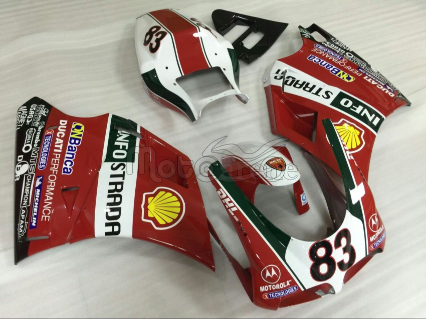 DUCATI Carena ABS 996 -748 Art 09 Troy Bayliss 83