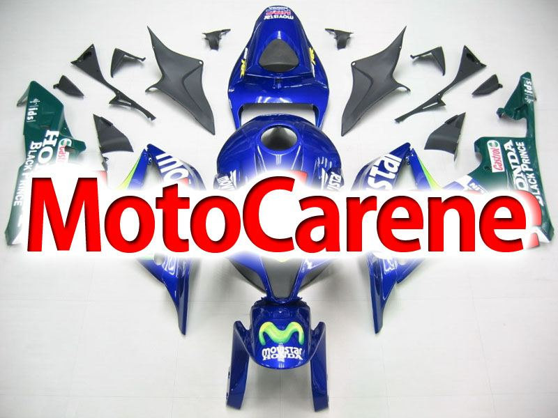 HONDA CBR 600RR Carena ABS Year 2007 2008 Fairing Art 04 Movistar Telefonica