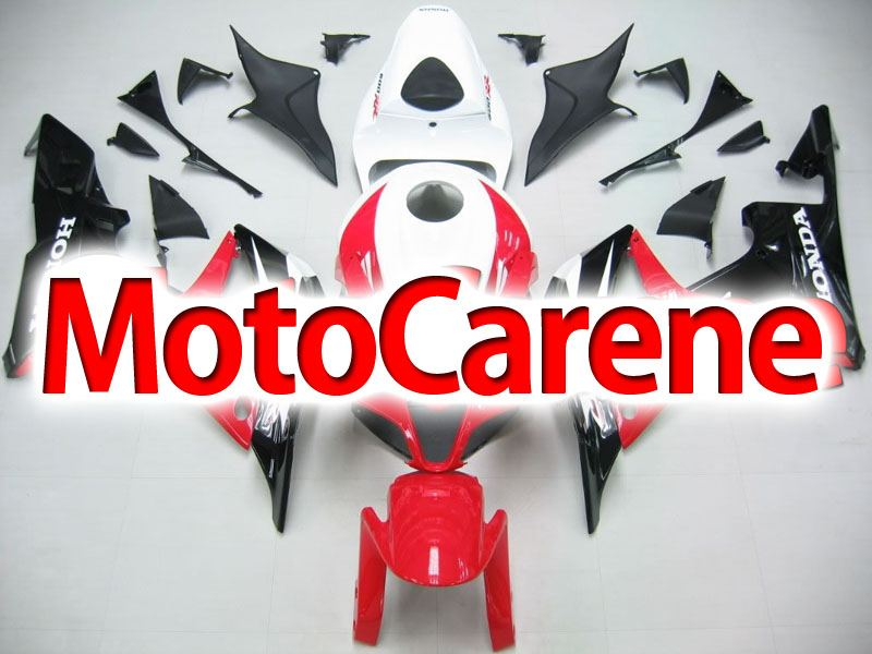 HONDA CBR 600RR Carena ABS Year 2007 2008 Fairing Art 08 Red Black White