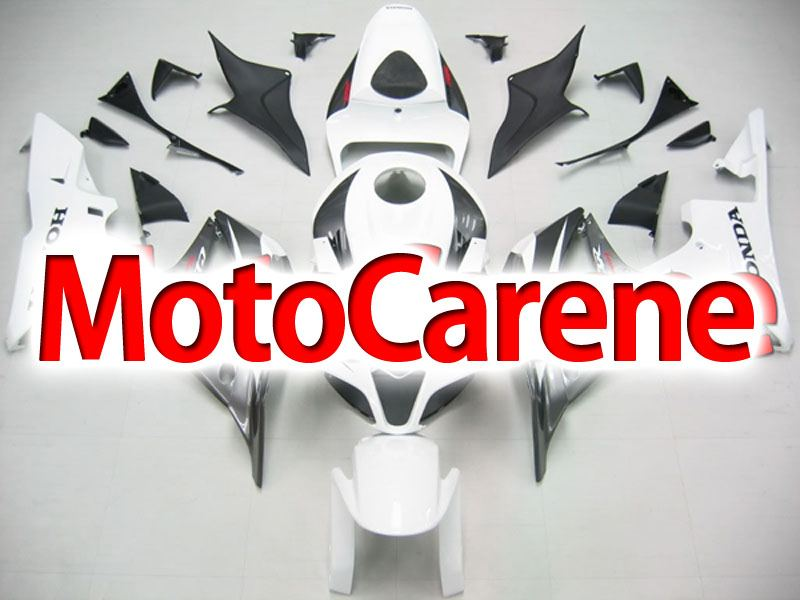 HONDA CBR 600RR Carena ABS Year 2007 2008 Fairing Art 10 White Grey