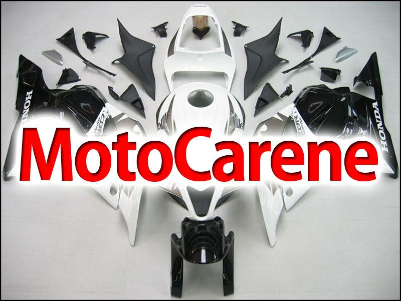 HONDA CBR 600RR Carena ABS Year 2009 2012 Fairing Art 05 White Grey Shock