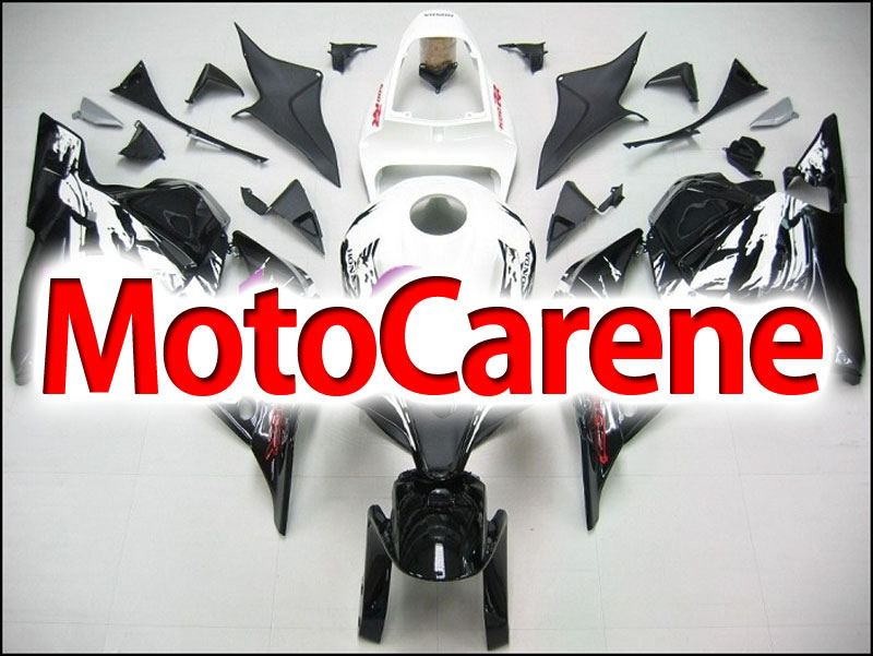 HONDA CBR 600RR Carena ABS Year 2009 2012 Fairing Art 09 White Fire black