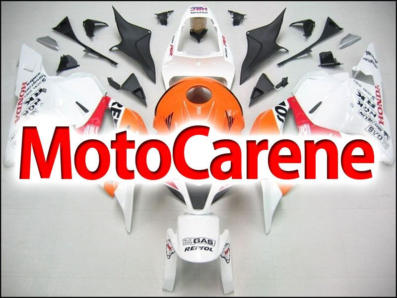 HONDA CBR 600RR Carena ABS Year 2009 2012 Fairing Art 10 White Repsol