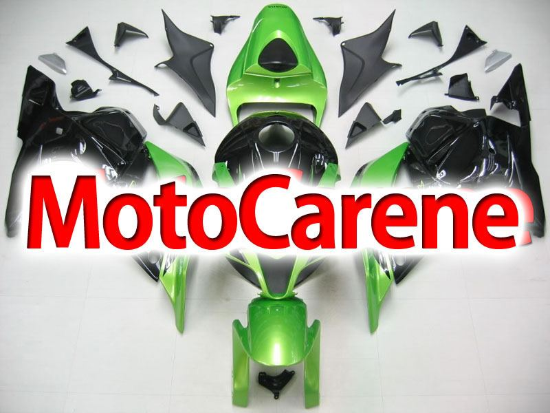 HONDA CBR 600RR Carena ABS Year 2009 2012 Fairing Art 18 Verde Nera