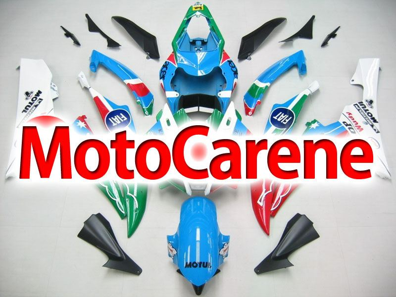 YAMAHA YZ-F R6 Carena ABS Anno 2006 2007 Kit Fairing Art 05 Fiat 500 Vale 46