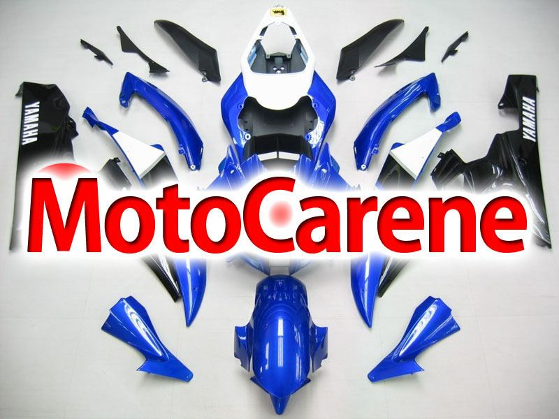 YAMAHA YZ-F R6 Carena ABS Anno 2006 2007 Kit Fairing Art 06 Blu Nero