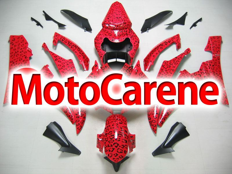 YAMAHA YZ-F R6 Carena ABS Anno 2006 2007 Kit Fairing Art 29 RED LIMITED EDITION