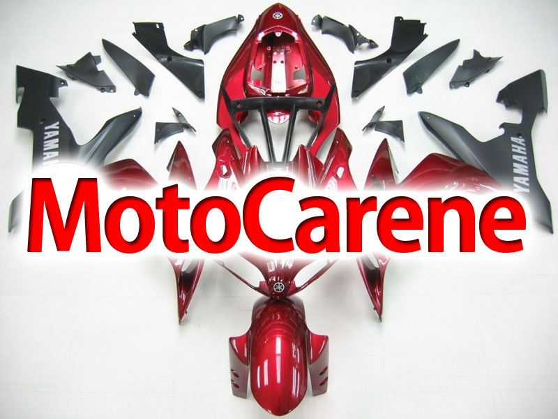 YAMAHA YZ-F R1 Carena ABS Year 2004-2006 Kit Fairing Delta box V Art 13 Red Metal