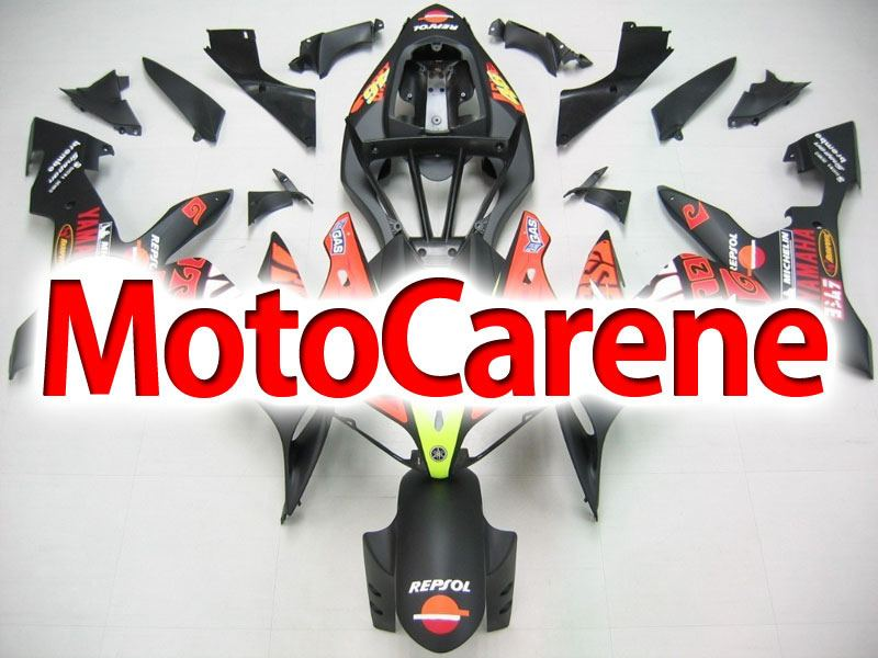 YAMAHA YZ-F R1 Carena ABS Year 2004-2006 Kit Fairing Delta box V Art 19 VALE 46 Opaco