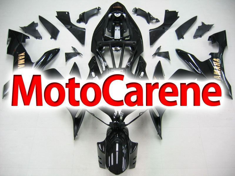YAMAHA YZ-F R1 Carena ABS Year 2004-2006 Kit Fairing Delta box V Art 21 Nero Gold