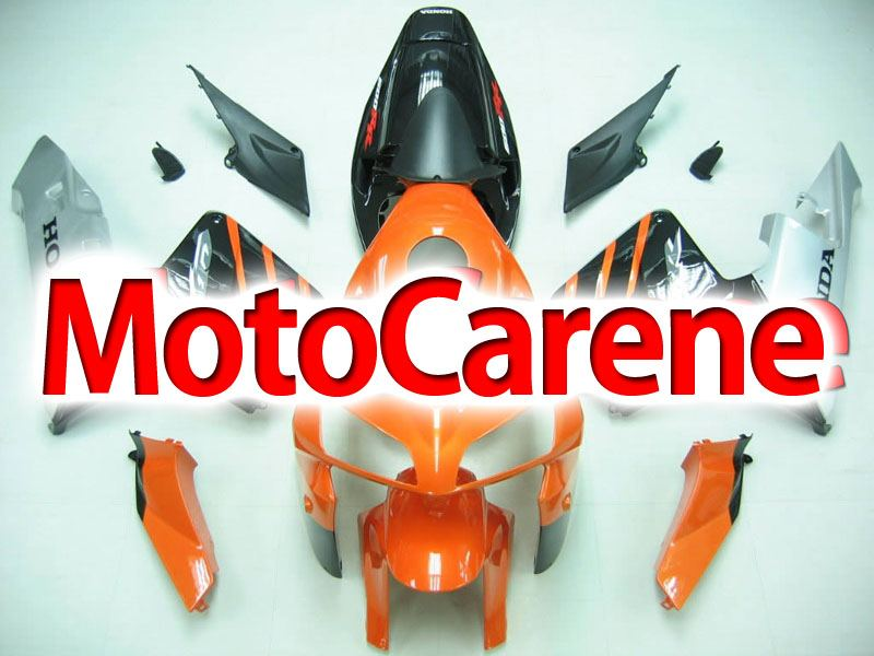 Honda CBR 600 RR 2005-2006 CARENA ABS ART 27 ORANGE BLACK
